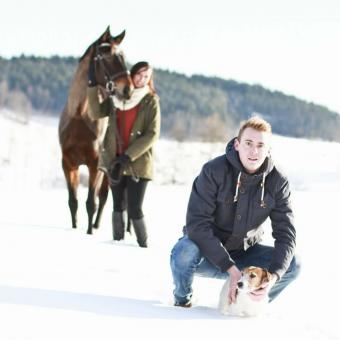 Wintershooting mit Andi & Bianca