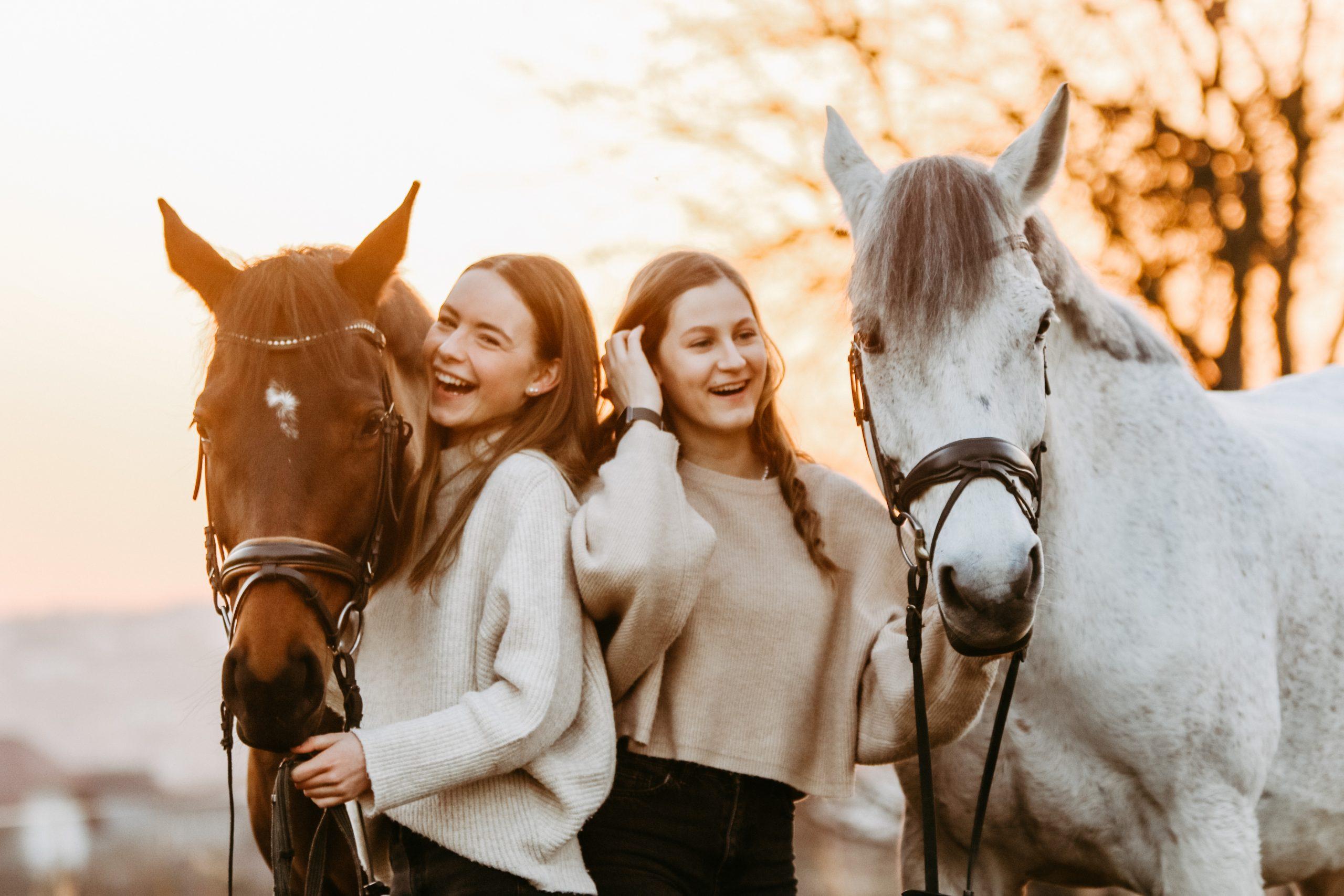 Pferdeshooting im Februar